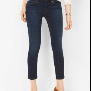 Michael Kors cropped stretch jean